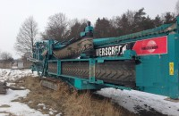 Powerscreen Chieftain 2100X na mokro